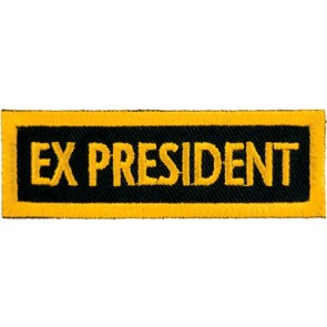 Ex-President Yellow Patch, Club Rank Patches