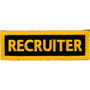Recruiter Yellow Patch, Club Rank Patches