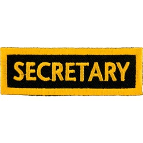 Secretary Yellow Patch, Club Rank Patches