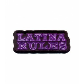 Latina Rules Purple Patch, Ladies Patches