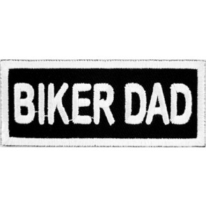 Biker Dad Patch, Biker Sayings Patches