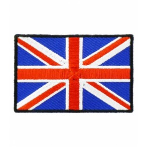 United Kingdom Union Jack Flag Patch, Country Flag Patches