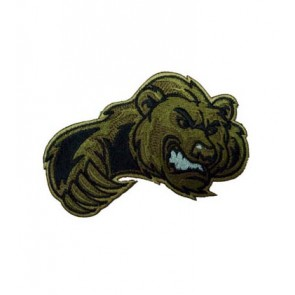 Brown Bear Clawing Patch, Animal Patches