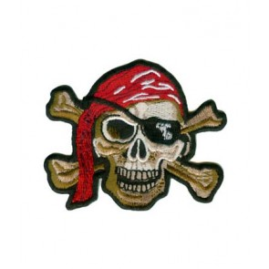 Pirate Skull & Crossbones Patch, Pirate Patches