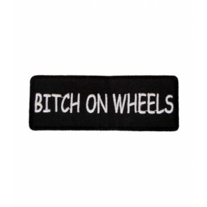 Bitch On Wheels Patch, Ladies Biker Patches
