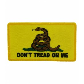 Gadsden Flag Yellow Patch, Don't Tread On Me Patches