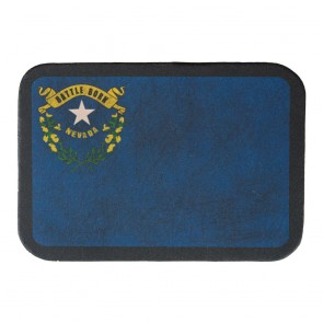 Nevada State Flag Soft Leather Patch