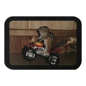 Chipmunk Riding Leather Biker Patch