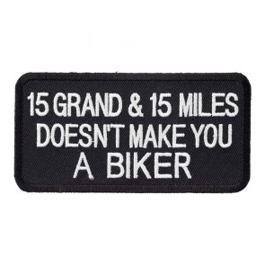 RIDE ME LIKE YOU STOLE ME IRON//SEW MOTORCYCLE BIKER CLUB EMBROIDERED PATCH D-4