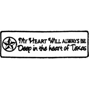 Deep In Heart of Texas Patch