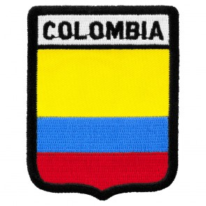 Colombia Flag Shield Patch