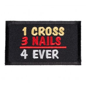 Religious Christian Biker Patches Embroidered Sew On Iron On