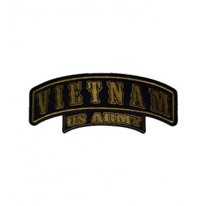 Vietnam U.S. Army Rocker Patch, Vietnam Patches