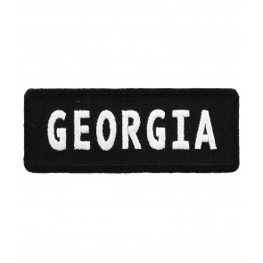 Georgia State Patch, 50 State Flag Patches