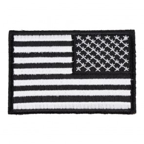 Patriotic U S  Flag Patches | Iron On, Sew On, Embroidered