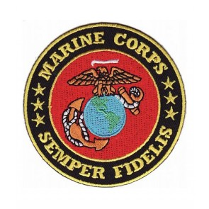 Marine Corps Semper Fidelis EGA Patch, Marines Patches