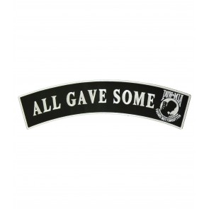 POW All Gave Some Rocker Patch, Military Patches