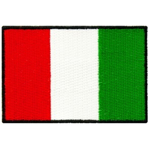 Italy Flag Patch, Italian Heritage Patches
