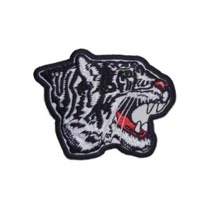 White Tiger Head Patch, White Tiger Patches