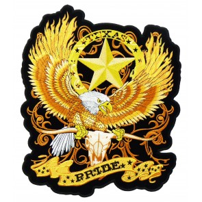 Texas Pride & Lone Star Eagle Patch, Texas Patches
