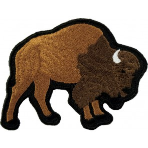 Reddish Brown Buffalo Patch