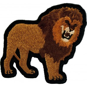 Growling Lion Patch, Lion & Jungle Animal Patches