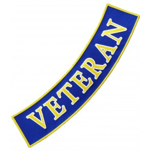 Navy Veteran Bottom Rocker Patch, Military Patches