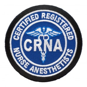 Sew On Certified Registered Nurse Anesthetists CRNA Patch