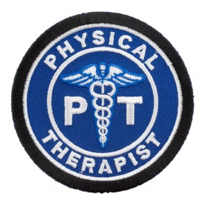 Sew On Physical Therapist PT Blue Patch