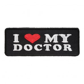 I Heart My Doctor Patch