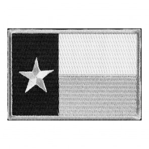 Sew On Texas State Flag Subdued Patch