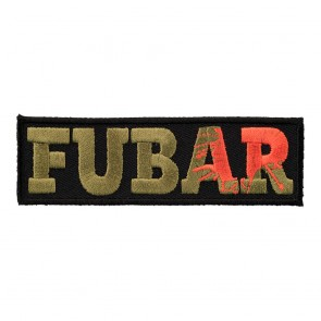 FUBAR Fucked Up Beyond Any Repair Sew On Patch