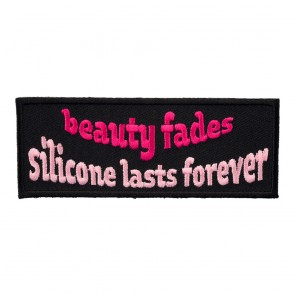 Iron On Beauty Fades Silicone Lasts Forever Patch