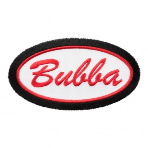 Embroidered Bubba Name Tag Oval Patch