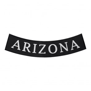 Arizona State Bottom Rocker Sew On Patch