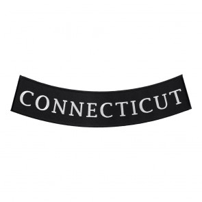 Connecticut State Sew On Bottom Rocker Patch