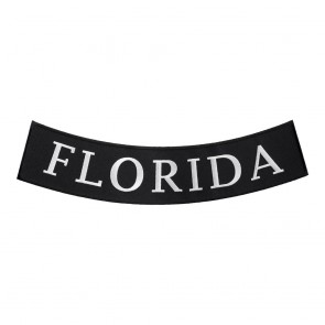 Florida State Embroidered Bottom Rocker Patch