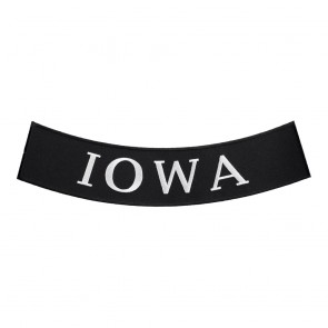 Iron On Iowa State Bottom Rocker Patch