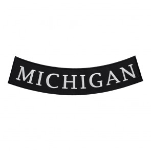 Michigan State Embroidered Bottom Rocker Patch