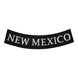 New Mexico State Sew On Bottom Rocker Patch