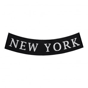 New York State Iron On Bottom Rocker Patch