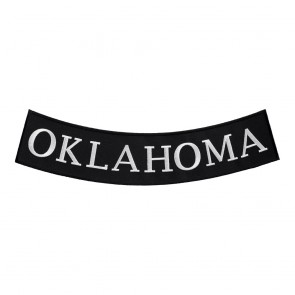 Sew On Oklahoma State Bottom Rocker Patch