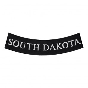 South Dakota State Bottom Rocker Patch With Heat Seal