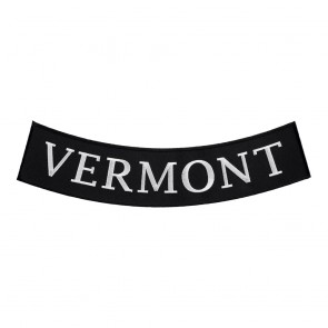 Vermont State Iron On Bottom Rocker Patch