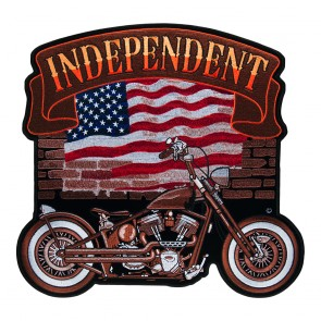Embroidered American Independent Vintage Ride Patch