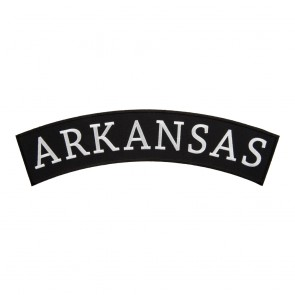 Iron On Arkansas State Top Rocker Patch