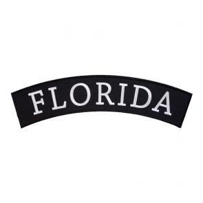 Embroidered Florida State Top Rocker Patch