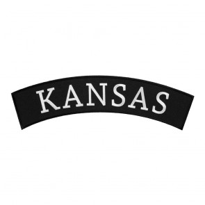 Sew On Kansas State Top Rocker Patch