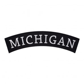 Iron On Michigan State Top Rocker Patch