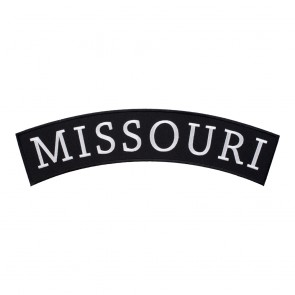 Iron On Missouri State Top Rocker Patch